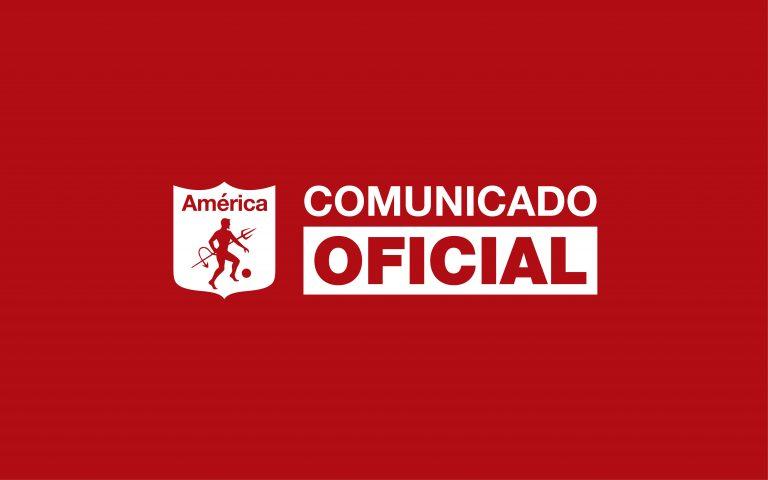 COMUNICADO DE PRENSA | ALEXANDRE GUIMARÃES NUEVO DT AMÉRICA DE CALI