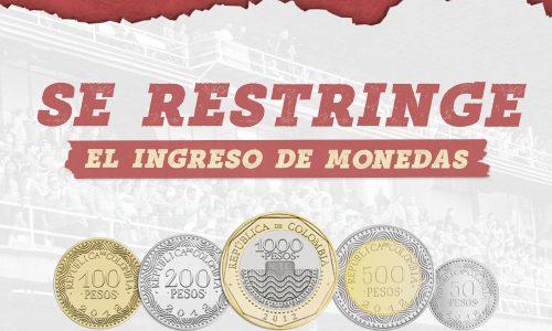 LIGA BETPLAY 2021-II   DISPOSICIONES PARA EL PARTIDO VS. HUILA