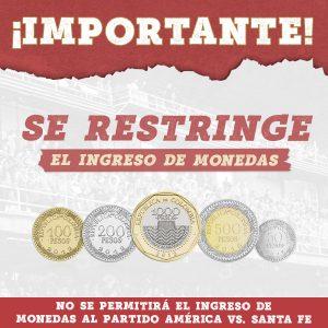 SUPERLIGA BETPLAY 2021   DISPOSICIONES PARA EL PARTIDO VS. SANTA FE